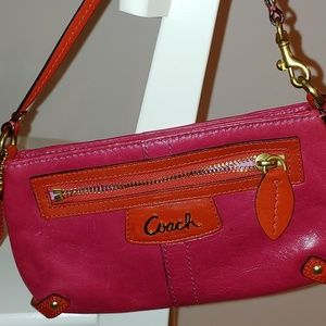 Coach clutch wrist bag